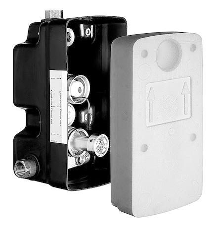 SCHELL UP-Masterbox WBD-E-T, Funktion: Elektronik-Thermostat- STLB-Bau Mustervorlage -