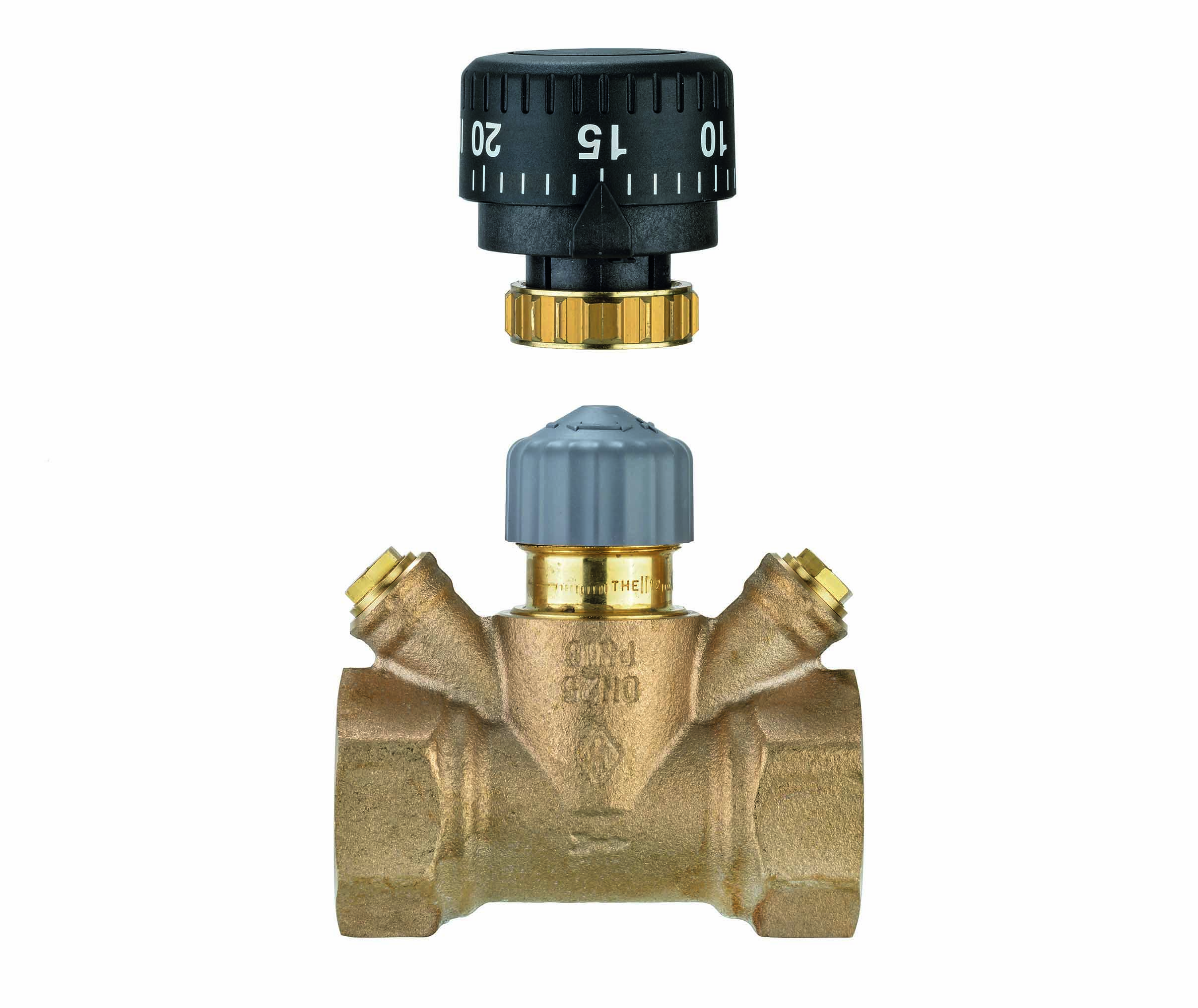 TA Strangregulierventil TA-Multi, DN 32, Handrad, Rotguss- STLB-Bau Mustervorlage -