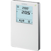 QMX3.P74 Temperatur-/Lüftungs-Regler mit Display, Temperatur-, Feuchte- und CO2-Sensor,- STLB-Bau Mustervorlage -