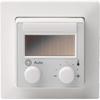 QAX97.4 Funk-Raumtemperaturfühler 55x55 mm mit Sollwertsteller, Taster und Umschalter 2-stufig,- STLB-Bau Mustervorlage -