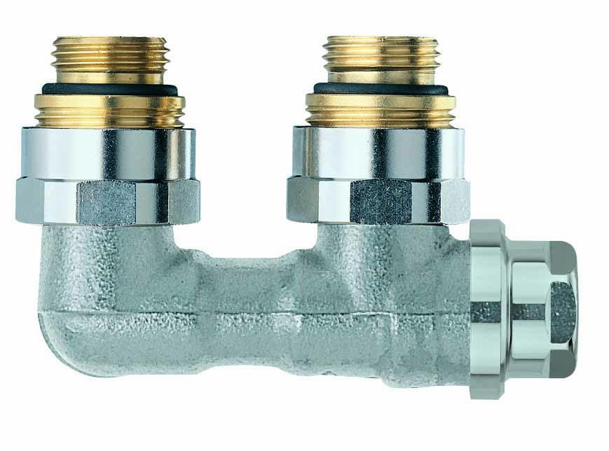 HEIMEIER Verschraubung Vekolux 2-Rohr, Eckform, für VHK mit Rp 1/2 IG- STLB-Bau Mustervorlage -