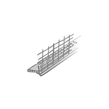 Multipor Abschlussprofil SOLI-TEX-DUE, W62-2- STLB-Bau Mustervorlage -