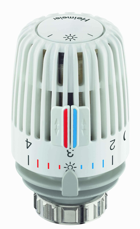 HEIMEIER Thermostat-Kopf K, weiß, mit Nullstellung- STLB-Bau Mustervorlage -