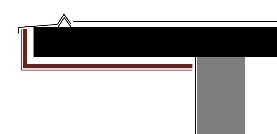 ALUCOBOND® Kassetten als Deckenuntersicht,- STLB-Bau Mustervorlage -