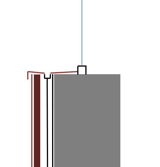 Entwässerungseinheit Fensterbank - STLB-Bau Mustervorlage -