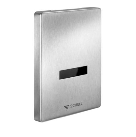 SCHELL Urinalsteuerung EDITION, Batteriebetrieb 6V, edelstahl- STLB-Bau Mustervorlage -