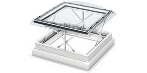 VELUX RWA Flachdach-Fenster Basis-Element CSP 1073Q öffn.Kunstst. Isolierglas, Lichtkuppel ISD 0000- STLB-Bau Mustervorlage -