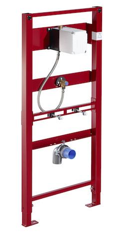 SCHELL Urinal-Modul COMPACT II, für Urinale mit verdecktem Zulauf- STLB-Bau Mustervorlage -