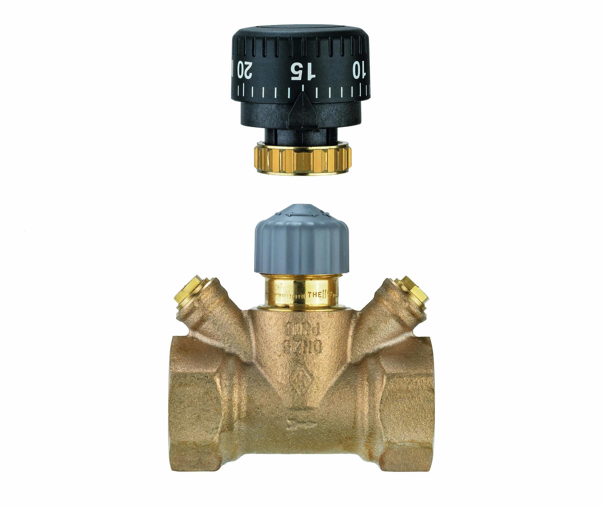 TA Strangregulierventil TA-Multi, DN 15, Handrad, Rotguss- STLB-Bau Mustervorlage -