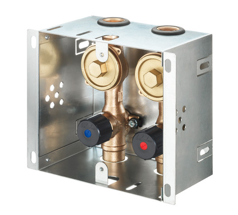 KEMPER DUO Absperr-WZ-Kasten, HWW-Modell, Figur 870 07, DN 20- STLB-Bau Mustervorlage -