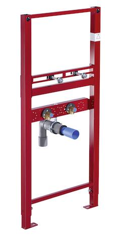 SCHELL Waschtisch-Modul MONTUS, für Waschtische mit Einlocharmaturen- STLB-Bau Mustervorlage -