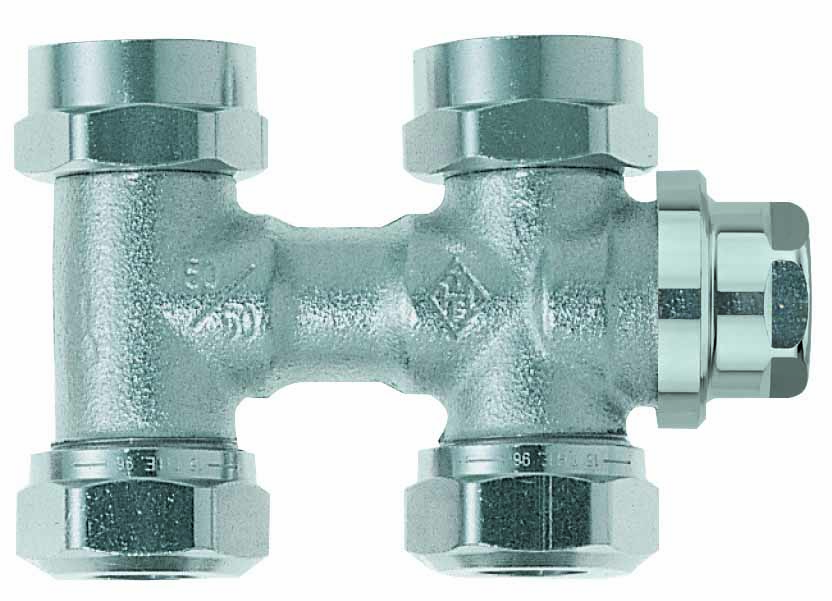 HEIMEIER Verschraubung Vekolux 2-Rohr, Durchgangsform, für VHK mit G 3/4 AG- STLB-Bau Mustervorlage -