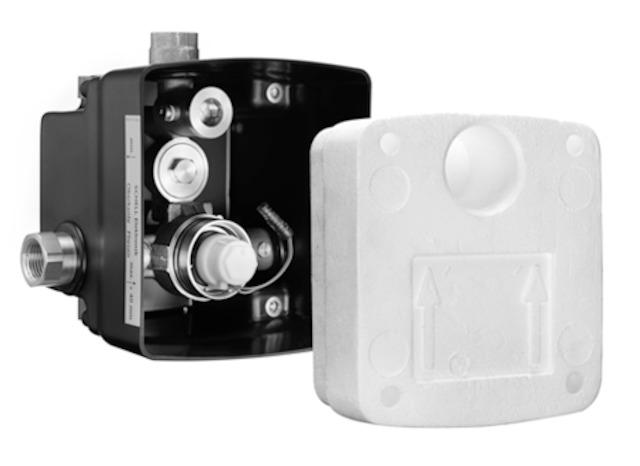 SCHELL UP-Masterbox LINUS WBDE-V, Funktion: Elektronik-vorgemischtes Wasser- STLB-Bau Mustervorlage -