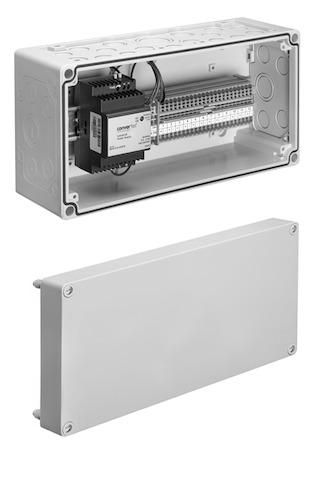 SCHELL Verteilerkasten 12V, für 1-12 Armaturen- STLB-Bau Mustervorlage -