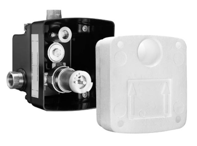 SCHELL UP-Masterbox WBD-SC-M, Funktion: Selbstschluss - Mischwasser- STLB-Bau Mustervorlage -