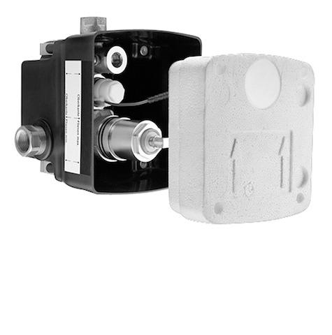 SCHELL UP-Masterbox WBD-E-M, Funktion: Elektronik - Mischwasser- STLB-Bau Mustervorlage -